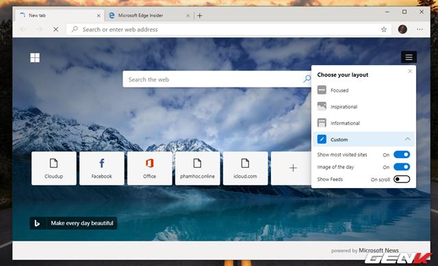 Trải nghiệm sớm trình duyệt Microsoft Edge dựa trên nền Chromium: Tối ưu RAM tốt, dùng được Extension của Chrome - Ảnh 6.