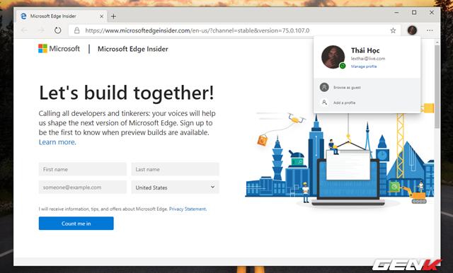 Trải nghiệm sớm trình duyệt Microsoft Edge dựa trên nền Chromium: Tối ưu RAM tốt, dùng được Extension của Chrome - Ảnh 7.