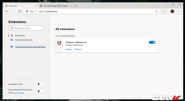 Cách cài đặt các tiện ích mở rộng Chrome cho trình duyệt Microsoft Edge mới - Ảnh 7.
