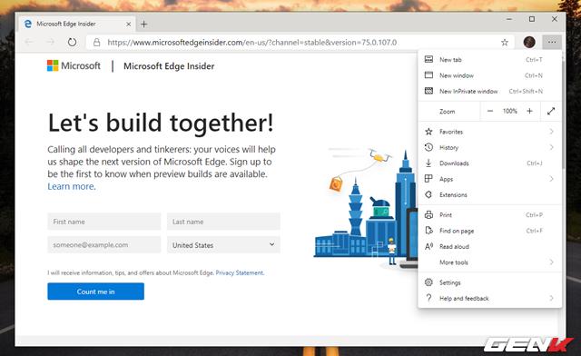 Trải nghiệm sớm trình duyệt Microsoft Edge dựa trên nền Chromium: Tối ưu RAM tốt, dùng được Extension của Chrome - Ảnh 8.