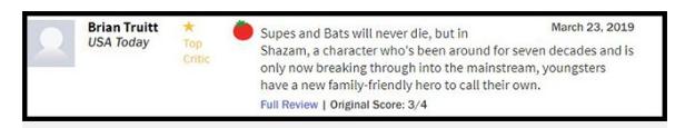 Thánh lầy Shazam sẽ vượt qua Aquaman trở thành phim siêu anh hùng hay nhất của DC? - Ảnh 8.