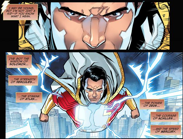 Shazam sở hữu siêu năng lực khủng khiếp như thế nào mà dân tình đồn đại mạnh hơn cả Superman? - Ảnh 4.