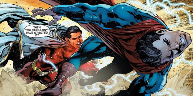 Shazam sở hữu siêu năng lực khủng khiếp như thế nào mà dân tình đồn đại mạnh hơn cả Superman? - Ảnh 5.