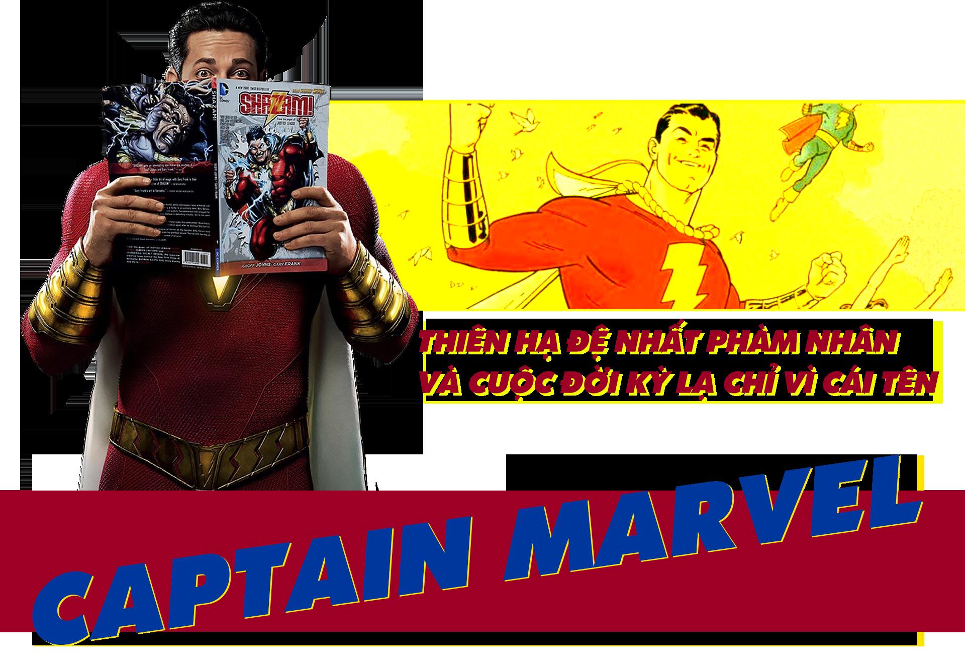 Shazam! Thiên Hạ Đệ Nhất Phàm Nhân và cuộc đời kỳ lạ chỉ vì cái tên Captain Marvel - Ảnh 1.