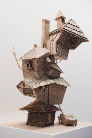 Sinh viên đại học kiến trúc thiết kế lại thế giới Harry Potter, còn đẹp hơn cả phim - Ảnh 13.
