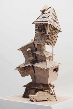 Sinh viên đại học kiến trúc thiết kế lại thế giới Harry Potter, còn đẹp hơn cả phim - Ảnh 14.