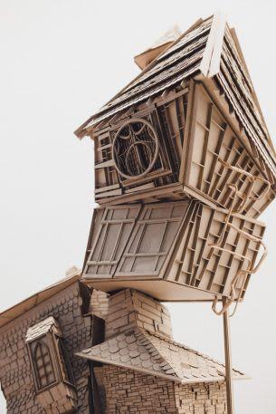 Sinh viên đại học kiến trúc thiết kế lại thế giới Harry Potter, còn đẹp hơn cả phim - Ảnh 11.
