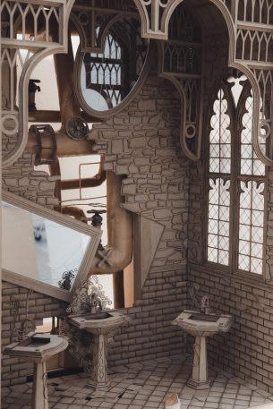 Sinh viên đại học kiến trúc thiết kế lại thế giới Harry Potter, còn đẹp hơn cả phim - Ảnh 12.