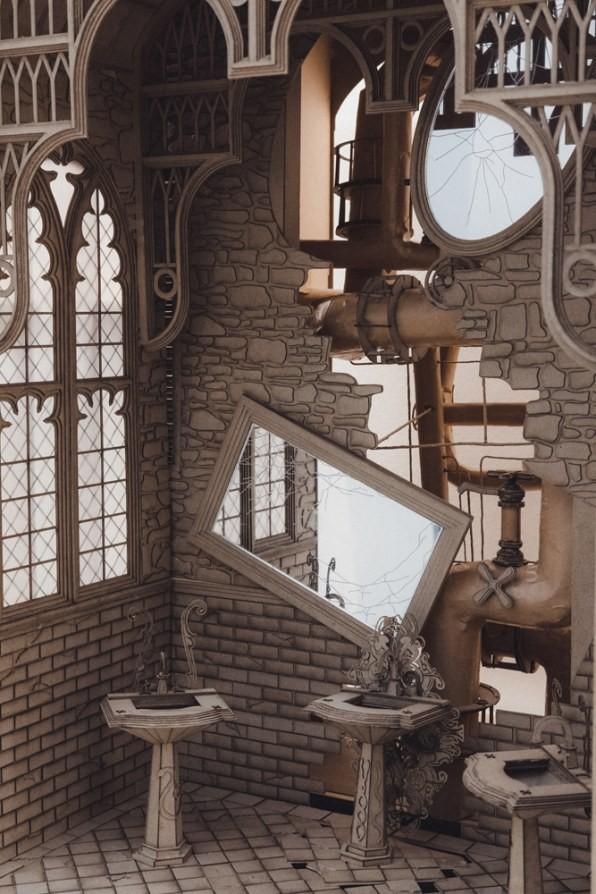 Sinh viên đại học kiến trúc thiết kế lại thế giới Harry Potter, còn đẹp hơn cả phim - Ảnh 15.