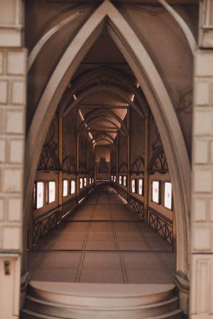 Sinh viên đại học kiến trúc thiết kế lại thế giới Harry Potter, còn đẹp hơn cả phim - Ảnh 6.