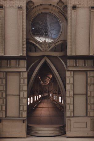 Sinh viên đại học kiến trúc thiết kế lại thế giới Harry Potter, còn đẹp hơn cả phim - Ảnh 7.
