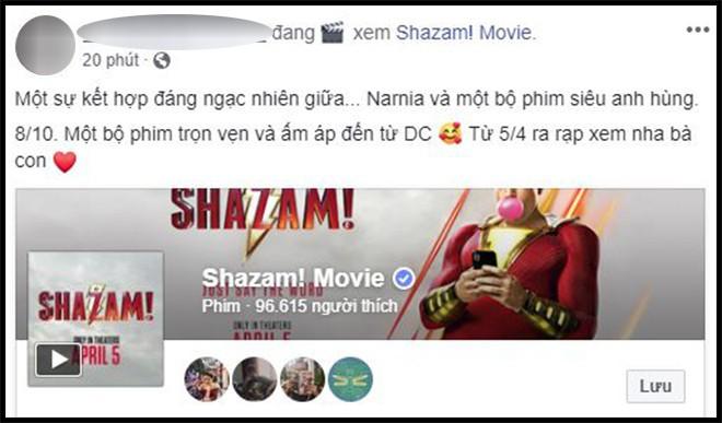 Khán giả Việt sau suất chiếu sớm phát cuồng vì Shazam: Phim siêu anh hùng lầy lội nhất từ trước đến nay - Ảnh 12.