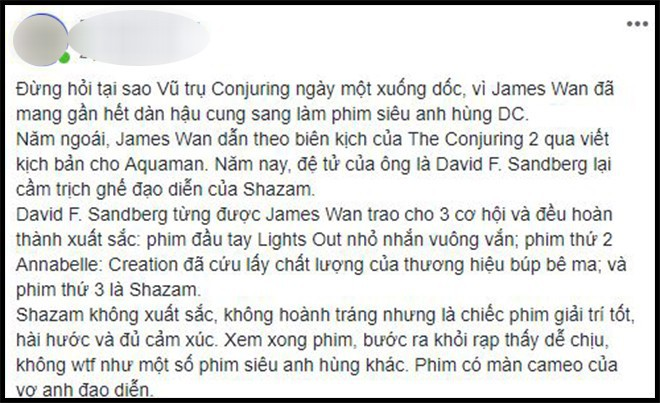 Khán giả Việt sau suất chiếu sớm phát cuồng vì Shazam: Phim siêu anh hùng lầy lội nhất từ trước đến nay - Ảnh 6.