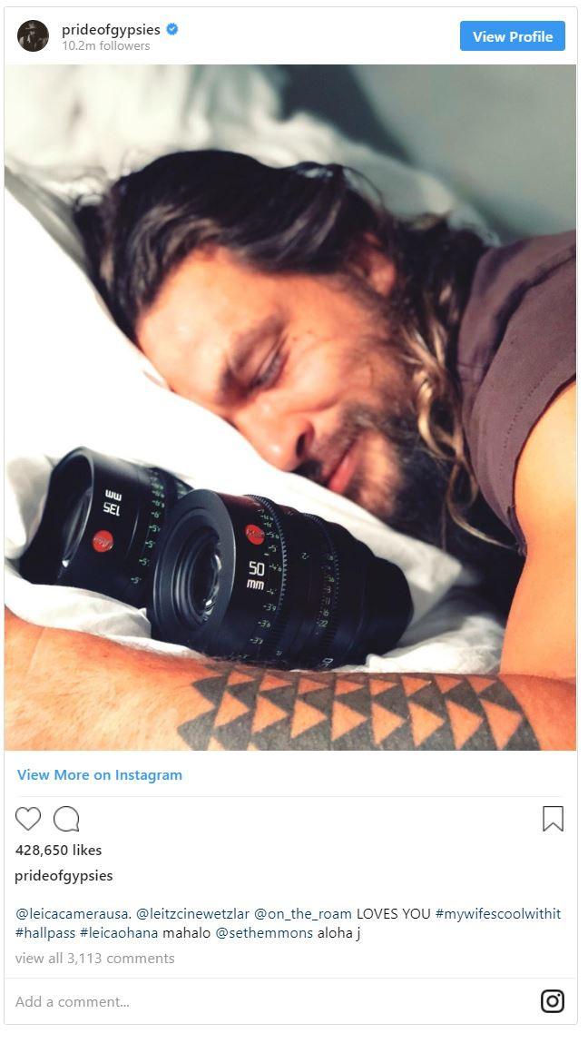 Aquaman Jason Momoa là một người đam mê nhiếp ảnh, có một bộ sưu tập máy ảnh Leica đắt giá - Ảnh 3.