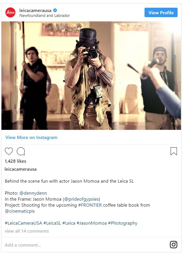 Aquaman Jason Momoa là một người đam mê nhiếp ảnh, có một bộ sưu tập máy ảnh Leica đắt giá - Ảnh 4.