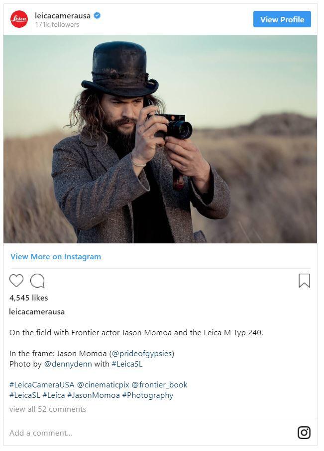 Aquaman Jason Momoa là một người đam mê nhiếp ảnh, có một bộ sưu tập máy ảnh Leica đắt giá - Ảnh 5.