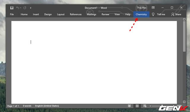 Hướng dẫn cách viết công thức Hóa học trong Microsoft Word - Ảnh 12.