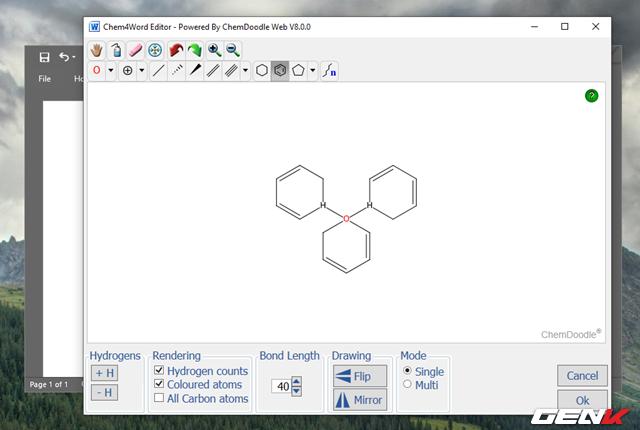 Hướng dẫn cách viết công thức Hóa học trong Microsoft Word - Ảnh 14.
