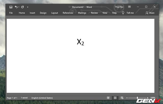 Hướng dẫn cách viết công thức Hóa học trong Microsoft Word - Ảnh 5.