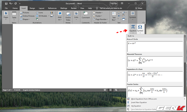Hướng dẫn cách viết công thức Hóa học trong Microsoft Word - Ảnh 7.
