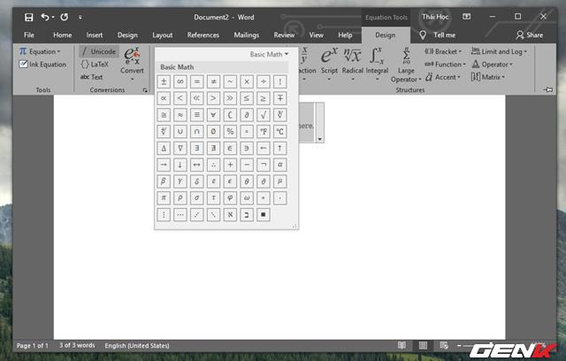 Hướng dẫn cách viết công thức Hóa học trong Microsoft Word - Ảnh 9.