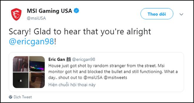 Gặp xả súng đạn bay xuyên tường găm vào màn hình, thanh niên Mỹ hú hồn cùng cái kết nguyên vẹn mỹ mãn - Ảnh 11.