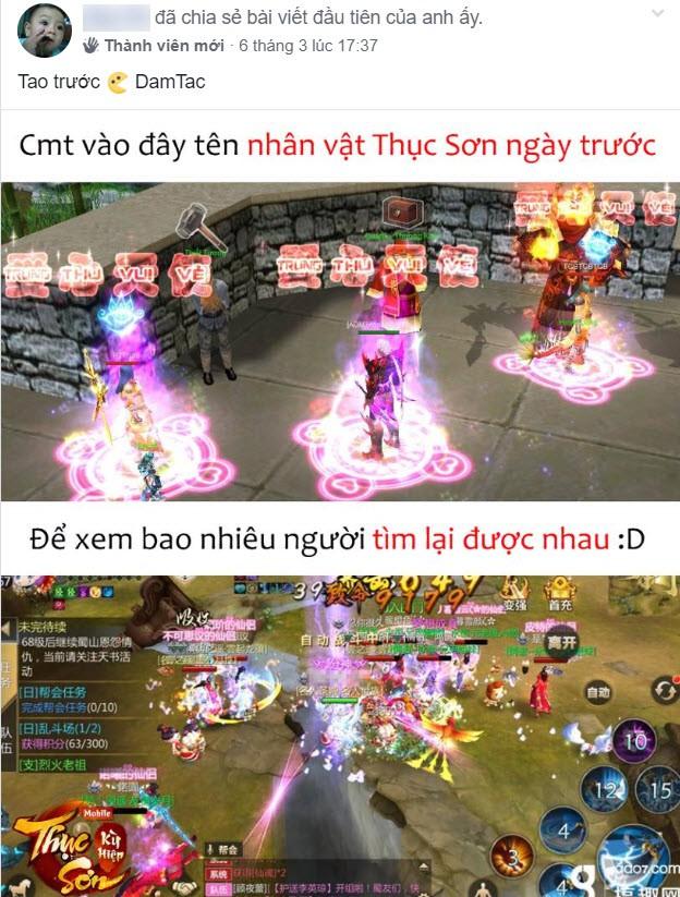 Espresso, av292929 và hàng loạt đại gia top đầu làng game Việt không hẹn mà gặp trong Thục Sơn Kỳ Hiệp Mobile, nuôi mộng Thập Niên Trùng Phùng - Ảnh 26.