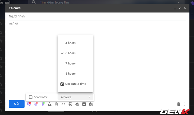 Lên lịch gửi Email định kỳ nhanh chóng và trực quan nhờ công cụ siêu nhỏ - Ảnh 6.
