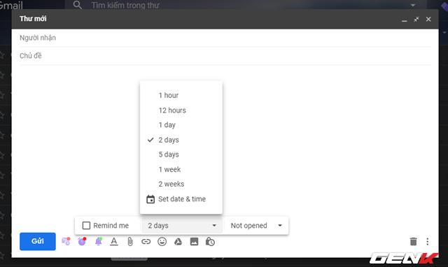Lên lịch gửi Email định kỳ nhanh chóng và trực quan nhờ công cụ siêu nhỏ - Ảnh 7.