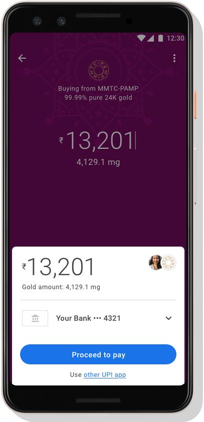 Google cho phép người dùng mua... vàng ngay trên điện thoại - Ảnh 2.