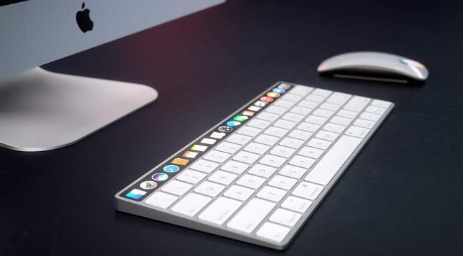 Apple đang phát triển máy Mac có Face ID, bàn phím Magic Keyboard có Touch Bar? - Ảnh 1.