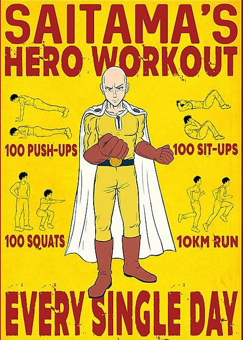 Người đàn ông trung niên quyết tâm tập luyện giống Saitama và cái kết 6 múi - Ảnh 2.