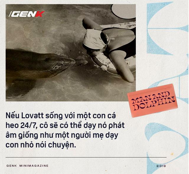 Đọc cuối tuần: Năm 1965, một cô gái dạy cá heo nói Tiếng Anh, cuối cùng con cá đã yêu cô ấy điên cuồng - Ảnh 7.