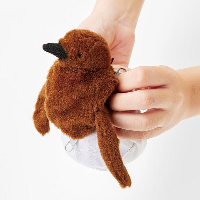 Thủy cung Nhật Bản gây sốt với loại thú nhồi bông cực sáng tạo, từ trứng nở thành chim trong vài giây - Ảnh 2.