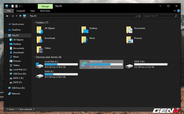 """Cách format lại USB bị lỗi """"write protected"""" để tiếp tục sử dụng - Ảnh 2."""