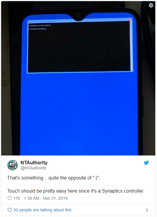 Windows 10 cho ARM khởi động được trên OnePlus 6T, hiện cả lỗi màn hình xanh - Ảnh 3.