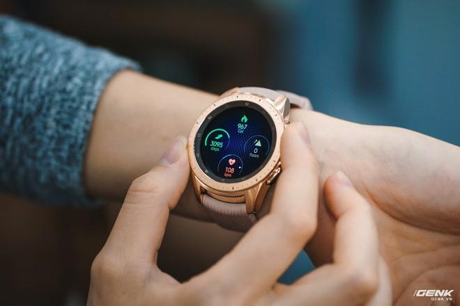 Đánh giá đồng hồ Samsung Galaxy Watch Active: thiết kế tối giản là điểm cộng, hợp với người yêu thể thao - Ảnh 8.