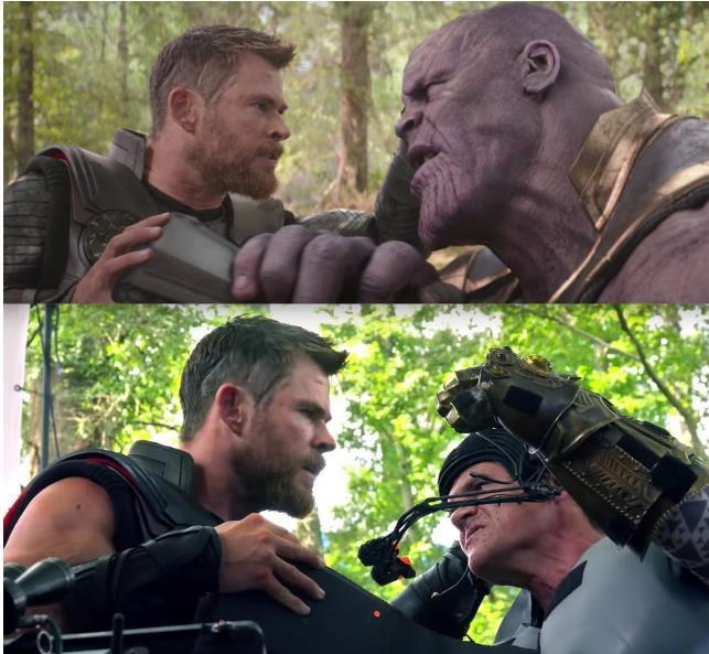 Xem lại hậu trường Infinity War, mới thấy trình hóa thân thượng thừa của dàn diễn viên Marvel - Ảnh 16.