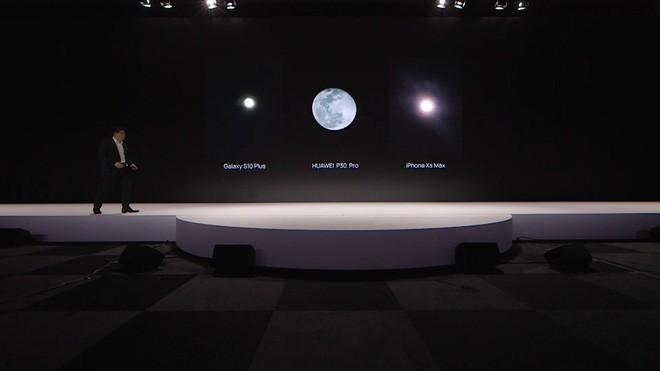 Huawei phản hồi việc P30 Pro bị tố dùng hình ảnh có sẵn để dựng lại ảnh chụp Mặt trăng: AI không thay thế hình ảnh kiểu đó - Ảnh 1.