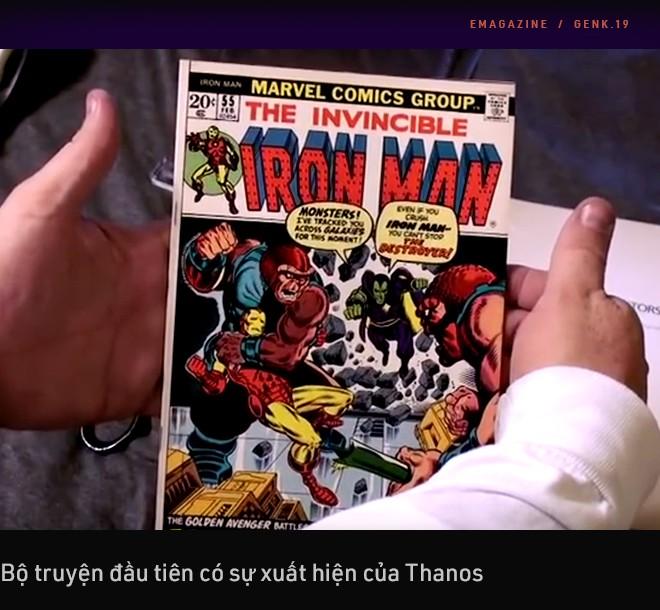 Thanos - Từ nhân vật vay mượn DC Comics đến vai phản diện tuyệt vời nhất trong lịch sử phim ảnh - Ảnh 7.