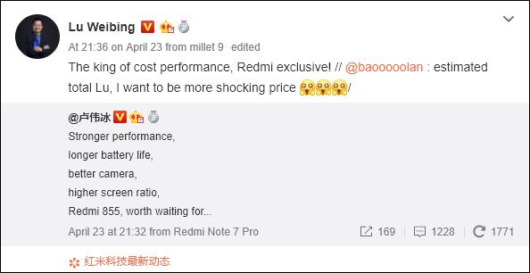 Tổng giám đốc Lu Weibing khẳng định flagship Redmi sẽ là vua về tỷ lệ giá so với hiệu năng - Ảnh 1.