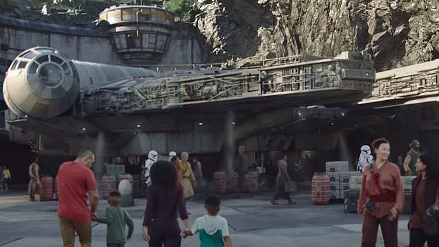 Toàn cảnh công viên Disney tỷ đô phong cách Chiến tranh giữa các vì sao trước ngày mở cửa chính thức - Ảnh 16.