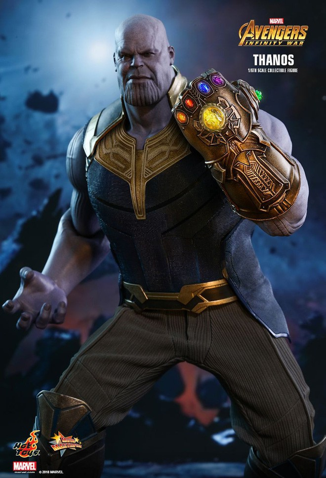 Nhan sắc thật sau lớp hóa trang của dàn sao Avengers bị giấu mặt: Thanos không gây bất ngờ bằng số 4, 5 - Ảnh 5.