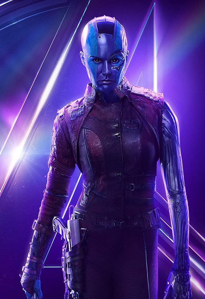 Nhan sắc thật sau lớp hóa trang của dàn sao Avengers bị giấu mặt: Thanos không gây bất ngờ bằng số 4, 5 - Ảnh 1.