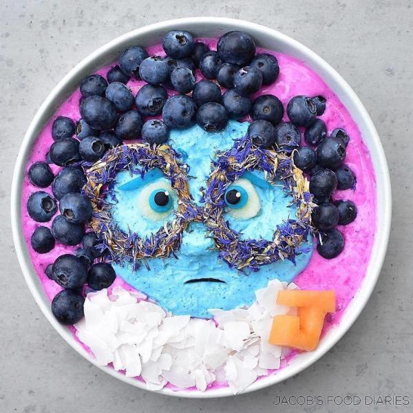 Sửng sốt trước những món ăn tuyệt đẹp được lấy cảm hứng từ các nhân vật hoạt hình - Ảnh 11.