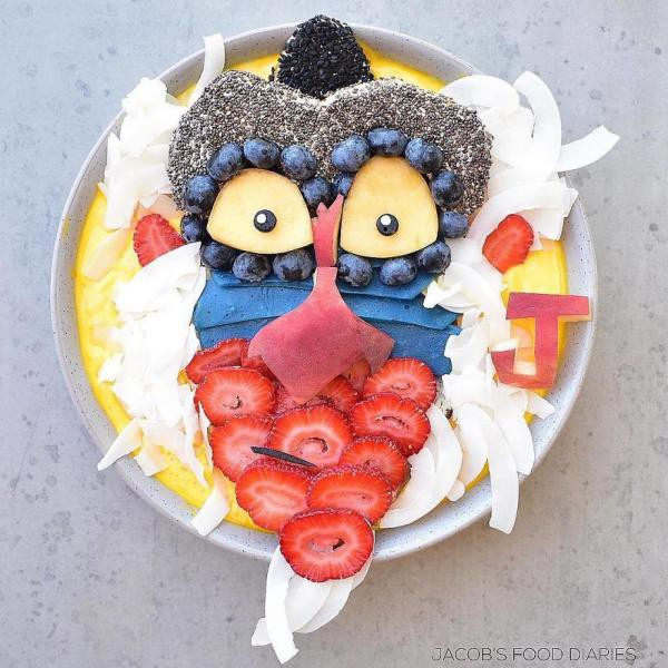Sửng sốt trước những món ăn tuyệt đẹp được lấy cảm hứng từ các nhân vật hoạt hình - Ảnh 13.