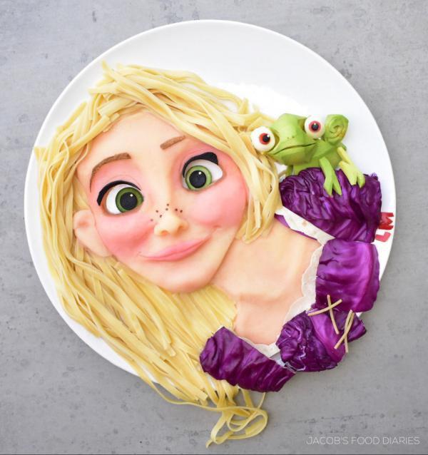 Sửng sốt trước những món ăn tuyệt đẹp được lấy cảm hứng từ các nhân vật hoạt hình - Ảnh 10.