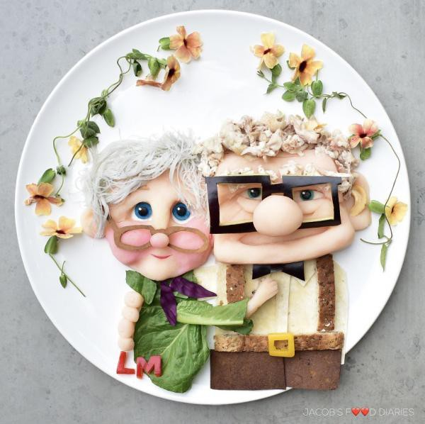 Sửng sốt trước những món ăn tuyệt đẹp được lấy cảm hứng từ các nhân vật hoạt hình - Ảnh 2.
