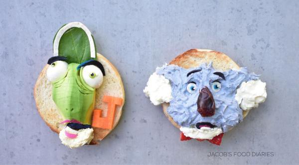Sửng sốt trước những món ăn tuyệt đẹp được lấy cảm hứng từ các nhân vật hoạt hình - Ảnh 17.