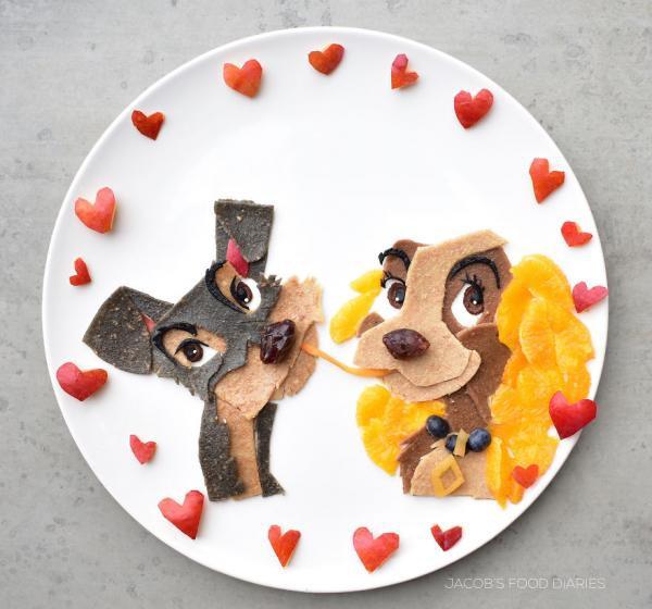 Sửng sốt trước những món ăn tuyệt đẹp được lấy cảm hứng từ các nhân vật hoạt hình - Ảnh 3.